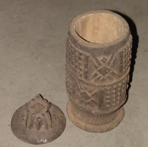 #147 - Pot with Lid, Bamileke, Cameroon.