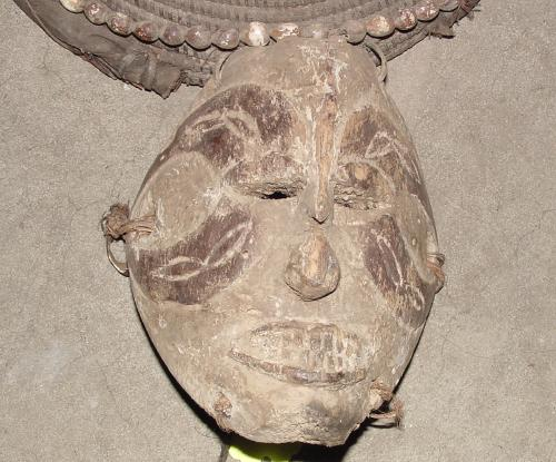 #191 - Dance Mask, Ibo, Nigeria.